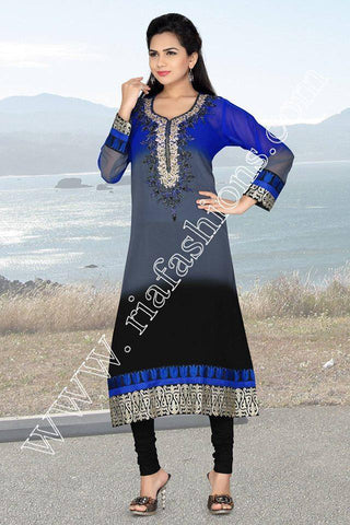 Beautiful Georgette Tunic-www.riafashions.com