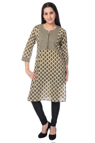 Churidhar-Leggings - Lycra - Black-www.riafashions.com