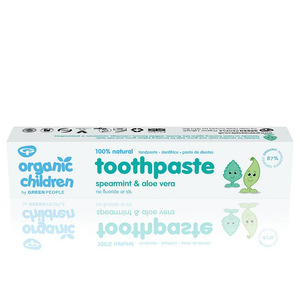 Green People Organic Children's Spearmint Toothpaste (50ml)