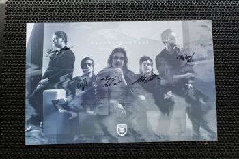 Northern Ghost Autographed Band 11x17 Poster