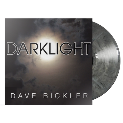 "Dave Bickler - ""Darklight"" LTD Edtition Gray Marble Vinyl"