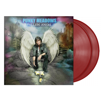 "Punky Meadows ""Fallen Angel"" 2XLP Red"