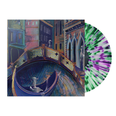 "Strawberry Girls ""Italian Ghosts"" Clear Vinyl with Violet/Green Splatter *Pre-Order*"