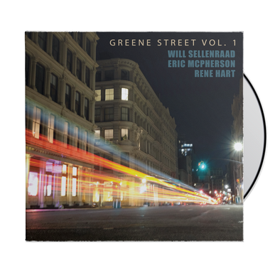 "WILL SELLENRAAD ""GREENE ST VOL. 1"" CD"