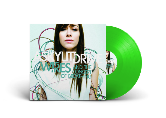 "A Skylit Drive ""Wires And The Concept of Breathing""  Green Vinyl"