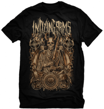 "In Dying Arms ""Copper Demon"" Skull Shirt"