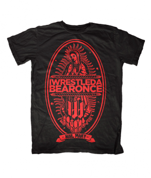 "iwrestledabearonce ""Hail Mary"" Album Shirt"