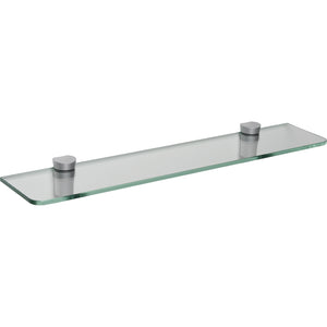 "GLASSLINE/Bin Standard Clear Glass Shelf Set - 24"" x 5"""