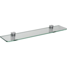 "Load image into Gallery viewer, GLASSLINE/Bin Standard Clear Glass Shelf Set - 24"" x 5"""