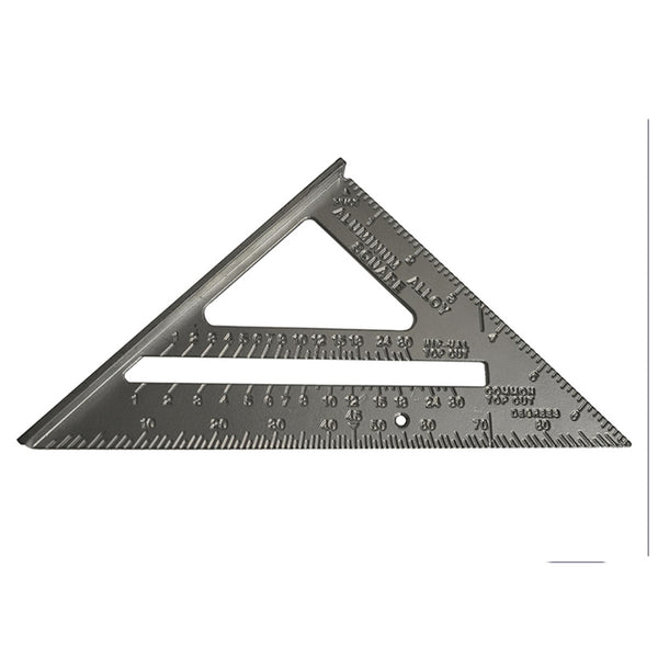 Aluminium Roofing Square 180mm 7'' Carpenters Quick Square Faithfull FAICSQUICK