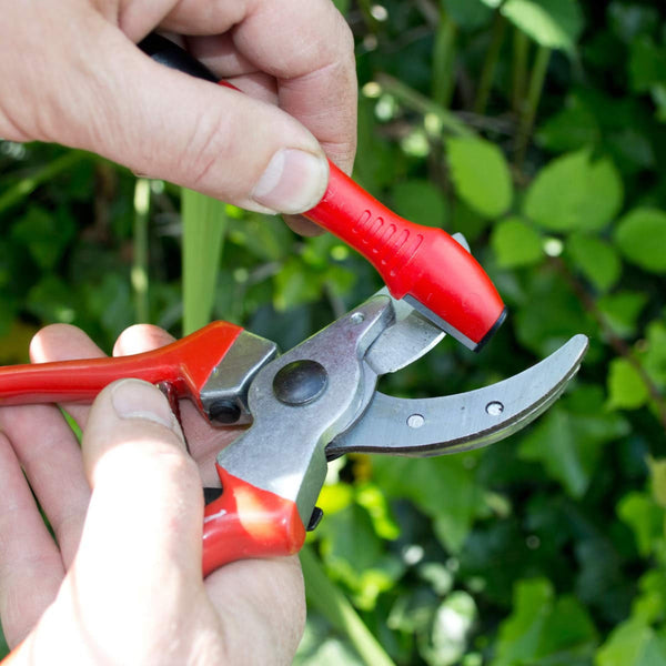 Multi Tool Sharpener With Oil Garden Tools Re-Sharpen Lopper Shears Mower Amtech U4250