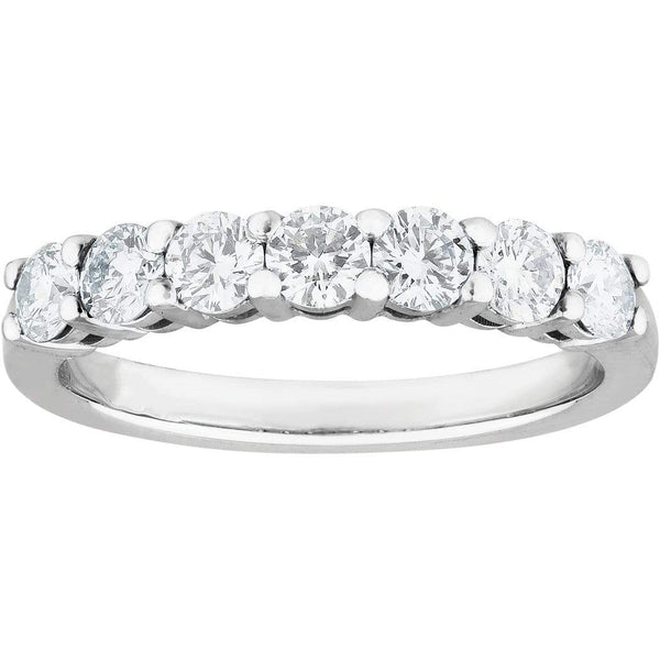 0.50ct Diamond Eternity Ring in 18ct White Gold Eternity Rings