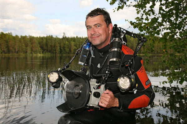 Pekka Tuuri Underwater Photographer Baltic Sea Diver