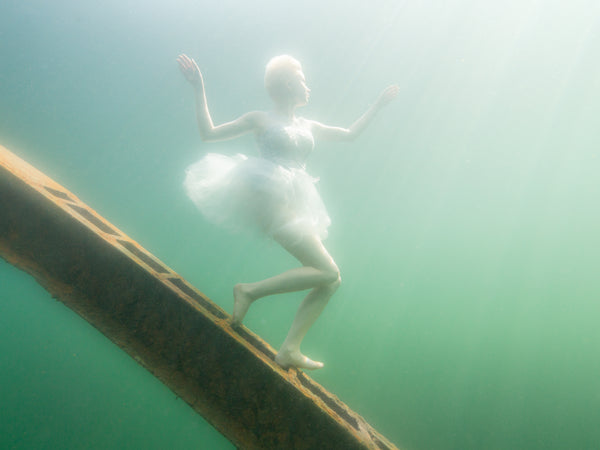 Pekka Tuuri Underwater Ballerina Photography Baltic Sea