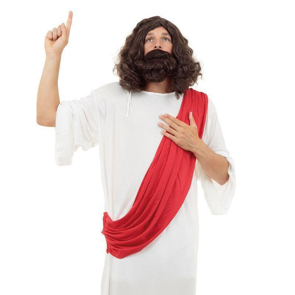 Mens Jesus Adult Costume - Male - One Size Halloween Costume