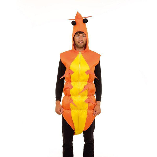 Shrimp Costume 'NO CLAWS' (Adult Costumes) - Male - One Size