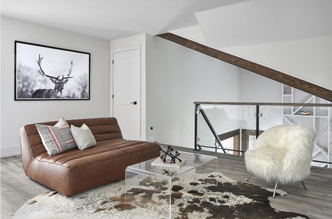 50 ways to use cowhide rug in your living room