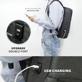TOPPU Chlo Backpack Mens USB Charging Bag 15 Laptop School College Backpack 9359 - chanchanbag
