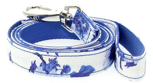 Floral Bouquet Fabric Dog Lead - Posh Pawz Fashion