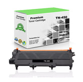 Compatible Brother TN450, TN-450 Toner Cartridge Black - 2.6K