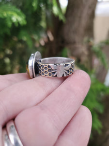 Honeycomb Ring Size 10