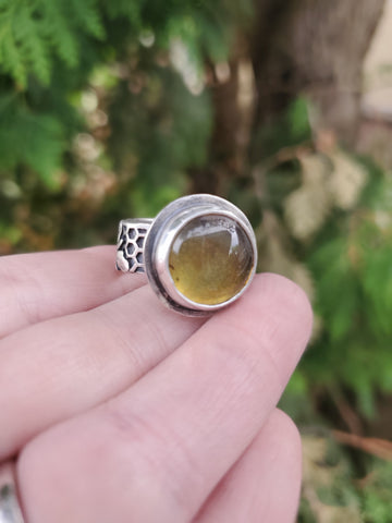 Honeycomb Ring Size 8