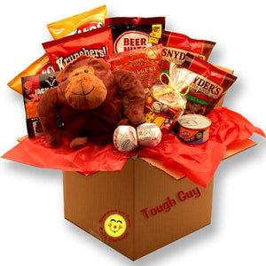 Tough Guy's Snack Care Package - I'm a Gift-Basket Case!