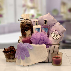 Bath & Body Spa Caddy - I'm a Gift-Basket Case!