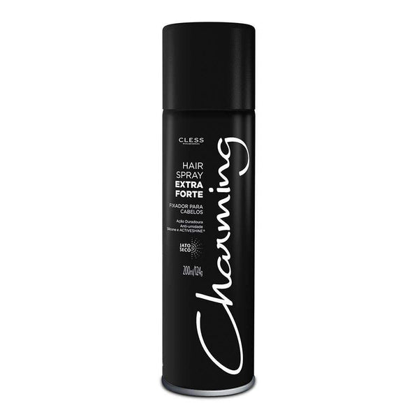 Spray Fixador Charming Extra Fixação 200ml Charming Men's Market