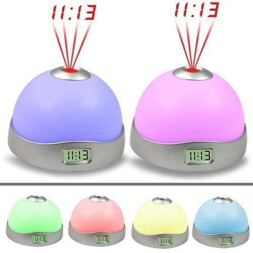 Projection LED Alarm Clock