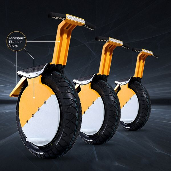 Motorcycle Self Balance With LED Headlight