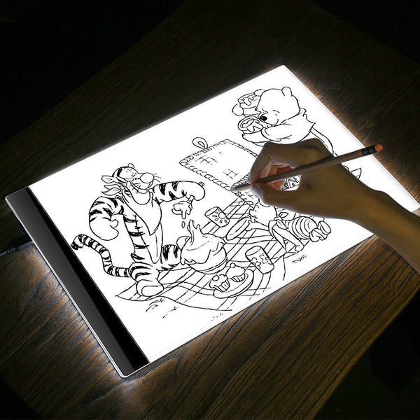 Designer LED Light Sketch Tracing Display