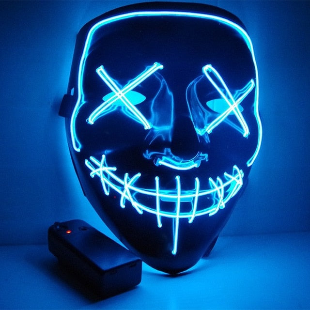 LED Rave Light Mask