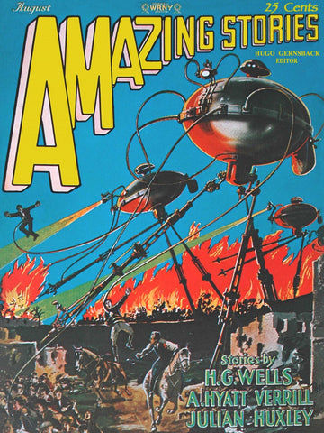 Amazing Stories: War of the Worlds (108 Piece Wooden Jigsaw Puzzle)