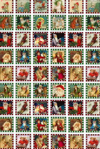Christmas Wrapping Paper (51 Pieces) Mini Christmas Wooden Puzzle