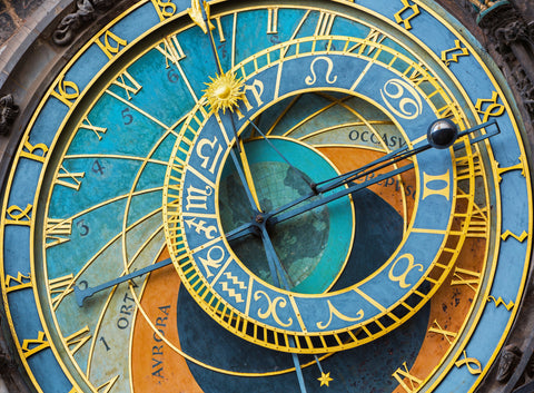 Prague Clock - 500 Piece Wooden Jigsaw Puzzle