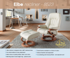 Elba Recliner Chair with Integrated Footrest by Himolla Germany - Affordable Modern Furniture at By Design
