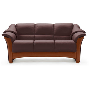 Stressless Oslo Sofa Collectiona by Ekornes - Paloma Chocolate - Affordable Modern Furniture at By Design
