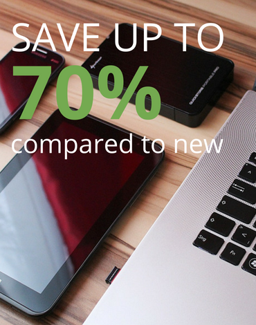 Tech Discounts Save up to 70% compared to new