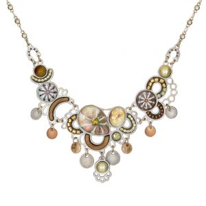 Seeka Gold and Honey Necklace #1832908