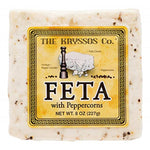 Kryssos Peppercorn Feta, 8 Oz (Pack of 3)
