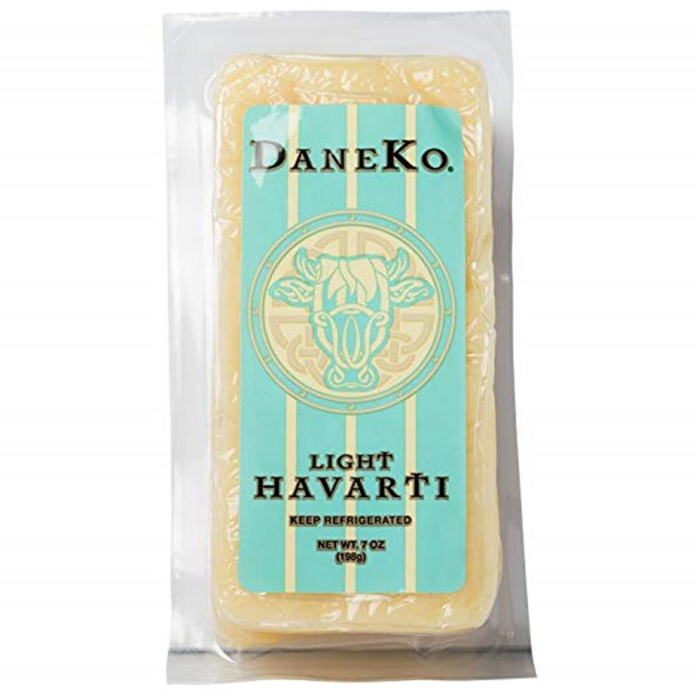 Daneko Danish Light Havarti, 7 Oz (Pack of 3)