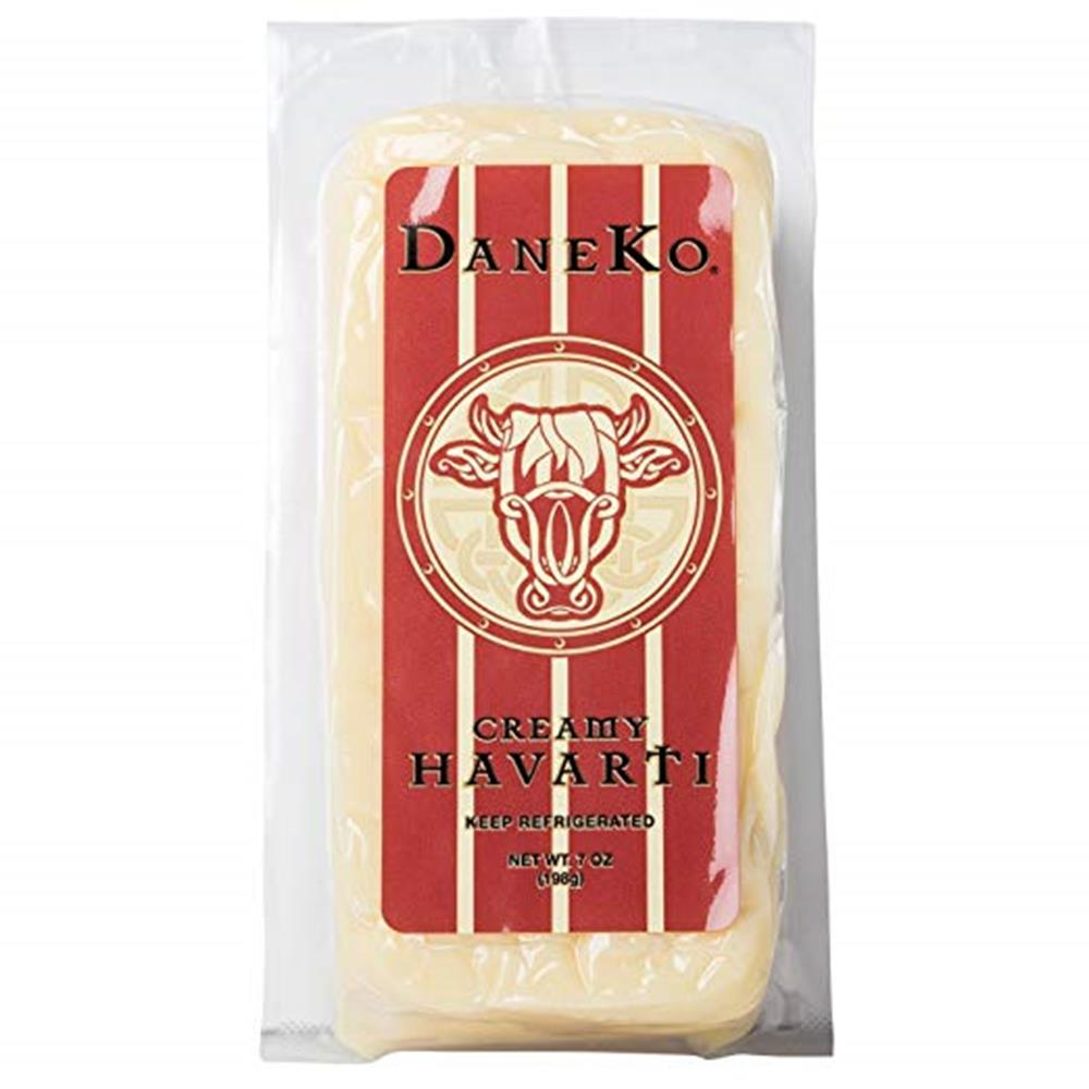 Daneko Danish Creamy Havarti, 7 Oz (Pack of 3)