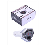 CARB4  4-in-1 FM Transmitter BT Handsfree Wireless AUX Modulator Car Kit MP3 Player