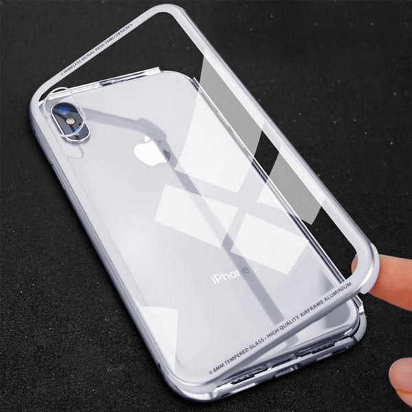 360 Magnetic Adsorption Case for  iPhone Samsung Galaxy s8/s8+/s9/s9+/Note8/Note9
