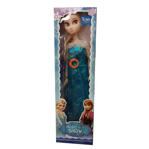 FROZEN ELSA WITH MAGIC WEND : BIG DOLL - 24 Inches