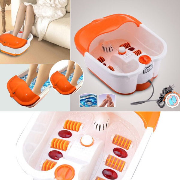 Footbath Massager Foot Spa Roller Massager