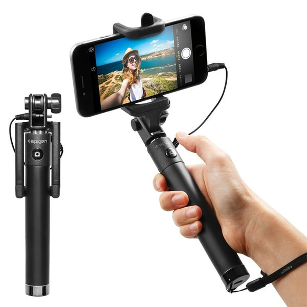 Bluetooth Selfie Stick for iPhone & Samsung
