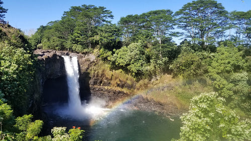 Waterfall and Lava Tube Adventure