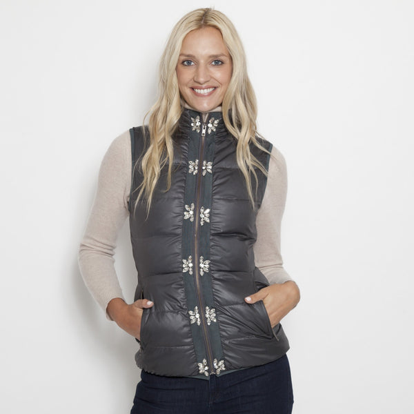 Glam Vest in Nylon